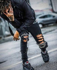 Grunge Fashion, Mens Fashion, Fashion Outfits, Boho Grunge, Runway Fashion, Fashion Edgy, Urban Outfits, Fashion 2018, Gothic Fashion