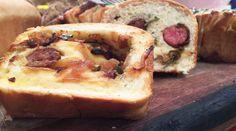 Pan relleno mediterráneo