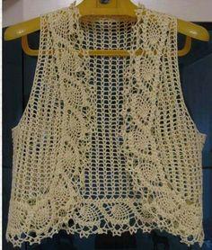 Fabulous Crochet a Little Black Crochet Dress Ideas. Georgeous Crochet a Little Black Crochet Dress Ideas. Débardeurs Au Crochet, Gilet Crochet, Crochet Jacket, Crochet Cardigan, Crochet Hats, Bolero Crochet, Diy Crafts Knitting, Knitting Patterns, Crochet Patterns