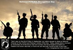 National POW and MIA Day