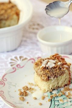 Another pinner said: This is the best crumb cake i have had! i used vanilla yogurt instead of plain yogurt. this recipe is definitely a keeper!!!