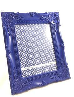 Porta-Retrato Rococó Azul 15x20cm Crie & Decor - CRIEDECOR