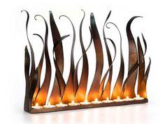 Vintage Style of the Modern Fireplace Candelabra: Modern Fireplace ...