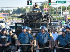 Police departments in many of the nation's big cities are preparing to respond in force to any possible protests or riots that might rise after the decision of whether or not to indict a white officer who shot a black teen in Ferguson, Missouri is made public.