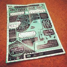 Skillnet Poster by Steve Simpson, via Behance
