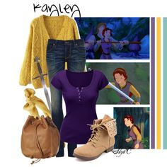 """""""Kayley - Quest for Camelot"""" by rubytyra on Polyvore"""