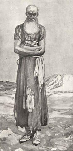 The Prophet Nahum ~ James Tissot - c1888  http://www.pinterest.com/kingcyruspichon/art-drawings-paintings-and-visually-stunning/