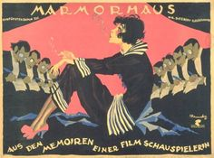 Affiche du film de Josef Fenneker : De Berlin à Marble House, 1921.