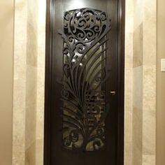 Ornamental Iron Screens For Doors   Modern   Interior Doors   Chicago    Arttig Artistic Creations