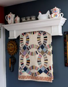 Classic Quilt Hangers | Quilting and Sewing | Pinterest | Quilt ... : quilt hanging shelf - Adamdwight.com