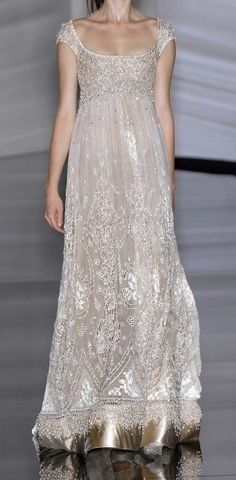 Elie Saab My Fair Lady inspired gown