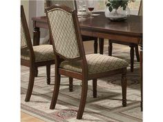 Shop for Coaster Chair, 103282, and other Dining Room Chairs at Patrick Furniture in Cape Girardeau, MO 63701.