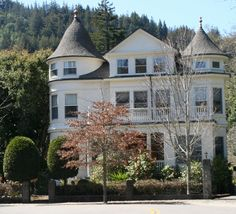 Fall in Ross - beautiful mansion, Marin County, CA