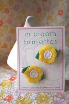 daisy barrettes