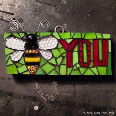 Bee YOU mosaic