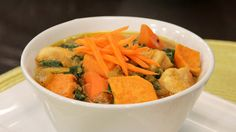 Chicken and Sweet Potato Curry | Steven and Chris | This family-friendly curry has a perfect mix of sweetness and spice. Chef Tom Filippou, chef for President's Choice, says you can make it milder by using mild curry powder, spicier by using hot. Makes 6 servings Prep time: 15 minutes...