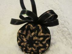 Primitive Quilted Ornament