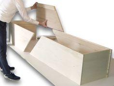CHISTANN grafkist bouwpakket End Of Life, Storage Chest, Beds, Ikea, Death, Cabinet, Furniture, Home Decor, Casket