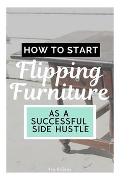 How to Start a Side Hustle Business Flipping Furniture for Profit! Based on over 7 years of experience with DIY and furniture makeovers. It's not hard to get started with a furniture makeover business. - Home Design Cheap Furniture Makeover, Diy Furniture Renovation, Diy Furniture Easy, Diy Furniture Projects, Upcycled Furniture, Furniture Decor, Furniture Refinishing, Kitchen Furniture, Painted Furniture
