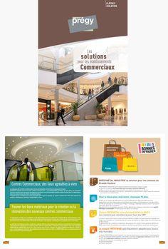 # Plaquette Centres Commerciaux - Lafarge Plâtre