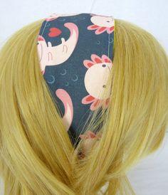 Axolotls Headband by DisturbinglyAdorable on Etsy