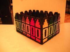 Crayon Box - Plastic Canvas