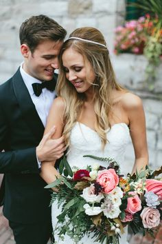 Photography : Brandon Scott Photography Read More on SMP: http://www.stylemepretty.com/canada-weddings/ontario/toronto/2016/02/15/urban-chic-organic-inspired-toronto-wedding/