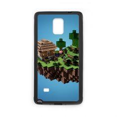Case for Samsung Galaxy Note 4 Minecraft Village