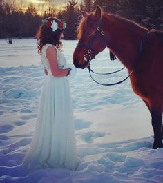 There is nothing more refreshing than the innocent soul of an animal   Photo taken by @michelebeaudoindesign at a photoshoot with @jessicahobinphotography. Makeup by @aseel.alll and dress designer @michelebeaudoindesign.  #horse #mllecoco #cocolikechanel #canada #winter #photoshoot #dress #designer #gown #princess #snowwhite #freespirit #model #onset #cold #ice #beauty #igers #instadaily #instamodel #instalike #girl #picoftheday #horsesofinstagram #modelsofinstagram #ididitforthepic #snow