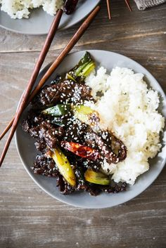 Paleo Mongolian Beef Squash your Chinese food cravings with this healthier spin on the restaurant classic Paleo Mongolian Beef! Healthy Living Recipes, Paleo Recipes, Real Food Recipes, Paleo Food, Paleo Cookbook, Healthy Dishes, Paleo Diet, Chicken Recipes, Keto