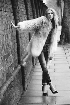 Behind The Scenes On Cara Delevingne's New Campaign For Pepe Jeans London