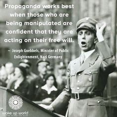Goebbels Quotes Joseph Goebbels Quotes  6 Understand The Disinformation Campaign .