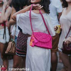 crochelinhasagulhas: Bolsas em crochê no Instagram