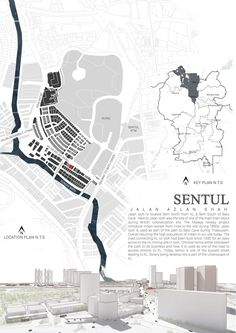 Sentul Site Analysis - Issuu is a digital publishing platform that makes it simple to publish magazines, catalogs, newspap - Plan Concept Architecture, Site Analysis Architecture, Architecture Mapping, Plans Architecture, Architecture Panel, Architecture Graphics, Architecture Portfolio, Architecture Student, Landscape Architecture