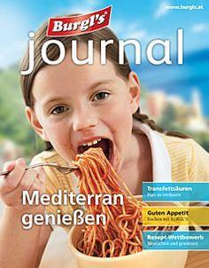 Mediterran genießen Journal, Food And Drinks