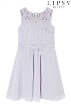 Lipsy Lace Prom Dress