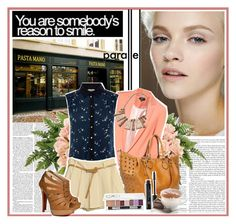 """""""Yvette."""" by dollyness ❤ liked on Polyvore featuring GINTA, Metropolis, Topshop, Oasis, Christian Louboutin, Anastasia and Eurø Style"""