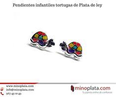 ¡¡Disponibles!! Pendientes tortugas de Plata de ley y esmalte. Entrega con cajita de Regalo en 24 h. Su precio: 13,50 € Más detalles: https://www.minoplata.com/joyas-infantiles/pendientes-de-plata-ninas/pendientes-infantiles-de-plata-de-ley-tortugas  #earrings #earring #earringsoftheday #jewelry #fashion #accessories #earringaddict #earringstagram #fashionista #girl #stylish #love #beautiful #piercing #piercings #pierced #cute #pendientes #minoplata #plata #women #pendientesniña