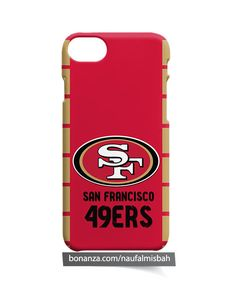 San Francisco 49ers Logo iPhone 5 5s 5c 6 6s 7 + Plus 8 Case Cover - Cases, Covers & Skins