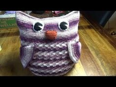 Haken - tutorial #411: Knuffel Uil - YouTube Crochet Projects, Om, Youtube, Baby, Crafts, Amigurumi, Pillows, Figurines, Manualidades