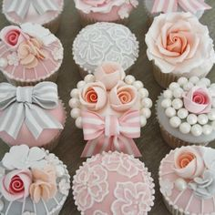 Cupcakes by by Cotton & Crumbs. Fun for a #wedding!