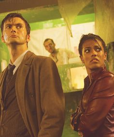 Martha Jones is the most under-appreciated character in all of Doctor Who.  She was the most resourceful of all the companions I have ever seen and met the Doctor step for step.  Her only flaw - she loved the Doctor too much.