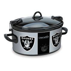 Shop for The Oakland Raiders NFL Crock-Pot® Cook & Carry™ Slow Cooker at Crock-Pot.com - If It Doesn't Say Crock-Pot®, It's Not The Original.