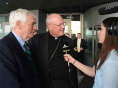 Pilgrims led by Cardinal Edward Dolan begin Irish visit.