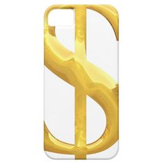 Gold Dollar Sign iPhone SE/5/5s Case Custom Brandable Electronics Gifts for your buniness #electronics #logo #brand