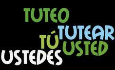 Artículo sobre el uso de usted y tú en España spanishonline.es http://learnspanishslang.wordpress.com/