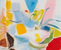April Flowers, Mostly DaffodilsBy Ivon HitchensGovernment Art Collection