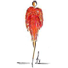 Carolina Herrera illustration by Laura Kay Drawing Sketches, Drawing Ideas, Drawings, Fashion Illustrations, Fashion Sketches, Azzedine Alaia, Carolina Herrera, Makeup Art, Mother Earth