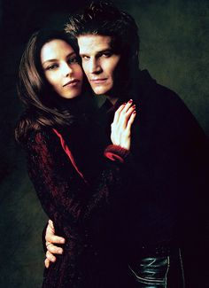 Drusilla (Juliet Landau) & Angel(us) (David Boreanaz) from Buffy the Vampire Slayer