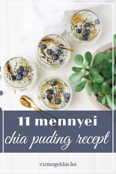 Fogyókúrás ételek és italok - 11 mennyei chia puding recept